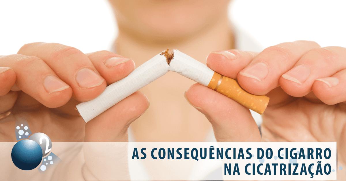 A interferência do fumo no processo cicatricial